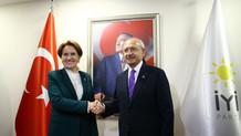 Kılıçdaroğlu ile Akşener ittifak için 1,5 saat görüştü