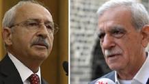 HDP: Ahmet Türk - Kemal Kılıçdaroğlu görüşmesi tesadüfi ama sakınca yok
