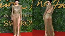 Kendall Jenner moda gecesini salladı!