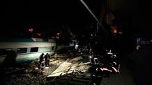 Ankara'da Yüksek Hızlı Tren ile kılavuz tren çarpıştı