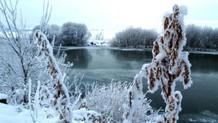 Göle'de termometreler eksi 24,5'i gördü
