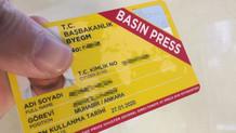 Fuat Oktay: FETÖ ile bağlantılı 705 kişinin sarı basın kartı iptal edildi