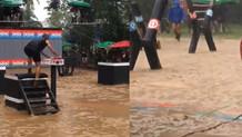 Survivor adasında yağmur felaketi: Acun paylaştı