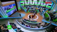 Rus televizyon programında şok kavga! Birbirlerini yumrukladılar