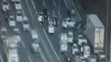 TEM Otoyolu'nda kaza: İstanbul yönü trafiğe kapandı