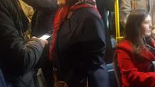 Otobüste taciz rezaletinde pişkin savunma