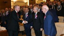 AYM'deki törende Erdoğan ve Kılıçdaroğlu tokalaştı