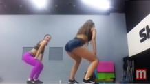Genç kızın sosyal medyayı sallayan dans videosu