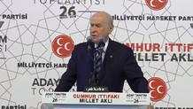 MHP seçim beyannamesi açıklanıyor (CANLI)