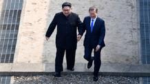 Son dakika: Güney ve Kuzey Kore liderleri sınırda buluştu