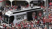 İzmir'de Muharrem İnce mitinginden çıkanlara saldırı