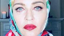 Popun kraliçesi Madonna Vogue için kapandı