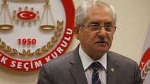 YSK Başkanı Sadi Güven seçim sonuçları için saat verdi