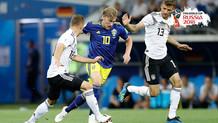 Almanya uzatmalarda İsveç'i 2-1 yendi