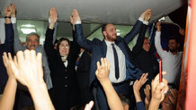 İnce'nin memleketinde AK Parti'lilerden kutlama