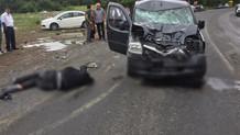 Zonguldak'ta motosiklet sürücüsü feci şekilde hayatını kaybetti