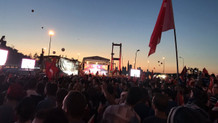 Son dakika: 15 Temmuz Şehitler Köprüsünde milyonlar toplandı.. CANLI YAYIN