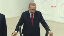 Erdoğan'ın yemin töreni..