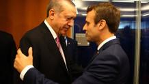 Son dakika: Cumhurbaşkanı Erdoğan Fransa Cumhurbaşkanı Macron ile görüştü