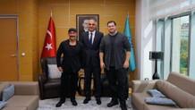 Kültür ve Turizm Bakanı Mehmet Ersoy Cem Yılmaz ve Şahan Gökbakar'la görüştü