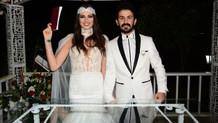 Oyuncu Seda Tosun ve Eymen Adal evlendi