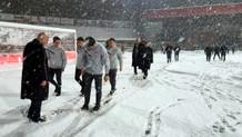 Son dakika: Galatasaray Boluspor maçı kar yağışı nedeniyle ertelendi