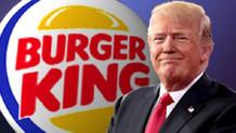 Burger King'den Trump'a: Elimizde hamberder kalmamıştır