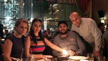 Ebru Yaşar'dan eşine doğum günü sürprizi
