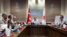 Hulusi Akar, Hakan Fidan ve komutanlar arasında önemli toplantı