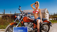 Kanadalı model Ania Krosinska yerel seçimlerde sağcı partiden aday oldu