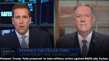 Türk medyası CNBC'nin gazına geldi: Pompeo Türkiye'ye askeri harekat yaparız dedi mi?