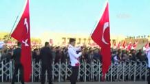 Anıtkabir'de Recep Tayyip Erdoğan sloganları
