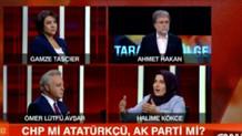 CHP'li vekille Halime Kökçe canlı yayında tartıştı: Böyle karşılıklı şey olmasın