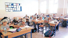 İstanbul'da takkeli eğitim: Her öğrenciye Sevap Puan kartı