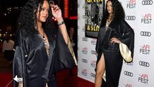 Rihanna iç çamaşırsız tercihiyle tüm dikkatleri üzerine topladı
