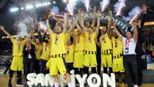 Türkiye Kupası Şampiyonu Fenerbahçe Beko