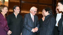 Fazıl Say'ın konserini Almanya Cumhurbaşkanı da izledi