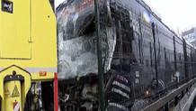 Haramidere'de metrobüs kazası: Yaralılar var
