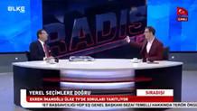 Ekrem İmamoğlu ve Ülke TV sunucusu canlı yayında tartıştı