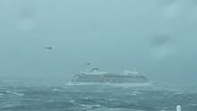 Norveç'te 1300 yolcu taşıyan gemi yardım çağrısında bulundu