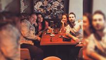 Eski eşler Burak Sergen ile Işıl Ulutürk yeni sevgilileriyle birlikte aynı masada!