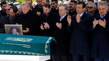 Erdoğan ve İmamoğlu cenaze törenine katıldı
