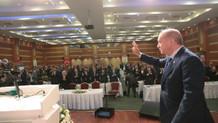 Erdoğan'dan İBB meclis üyeleri ve ilçe belediye başkanlarıyla toplantı