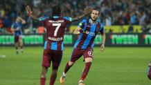 Trabzonspor Beşiktaş'ı fırtına gibi yerle bir etti 2-1