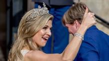 Hollanda kraliçesinin çılgın dansına sansür