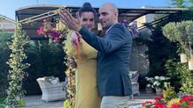 Oyuncu Bartu Küçükçağlayan ile Merve Özgüle nişanlandı
