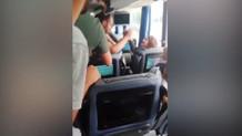 Otobüsün önünü kestiler, araçtaki kadını kaçırdılar! İşte o anlar...