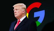 Trump'tan Google çıkışı!