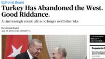 Bloomberg: Türkiye Batı'yı terk etti. Gitti de kurtulduk