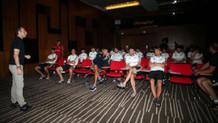 Beşiktaşlı futbolcular yeni sezon kuralları hakkında bilgilendirildi